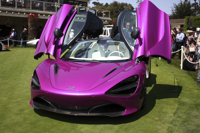The McLaren 720S Goes Flamboyantly Purple as a One-Off at Pebble Beach High Resolution Exterior - image 727453