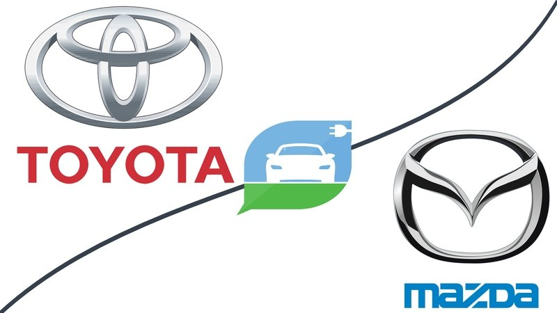 Toyota Partners With Mazda to Develop EVs