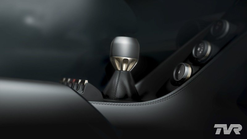 The TVR T37 Sports Car Will Get A Manual Transmission, Or So This Teaser Shows Interior - image 725912