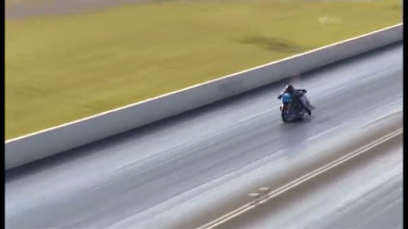 What do you do when you get thrown off your bike at 250 mph? - image 726106