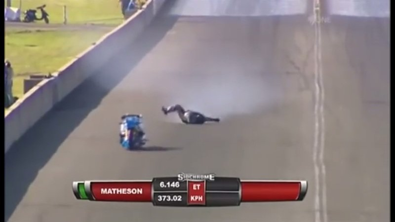What do you do when you get thrown off your bike at 250 mph? - image 726108
