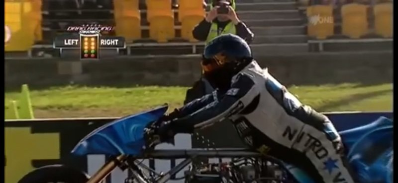 What do you do when you get thrown off your bike at 250 mph? - image 726105