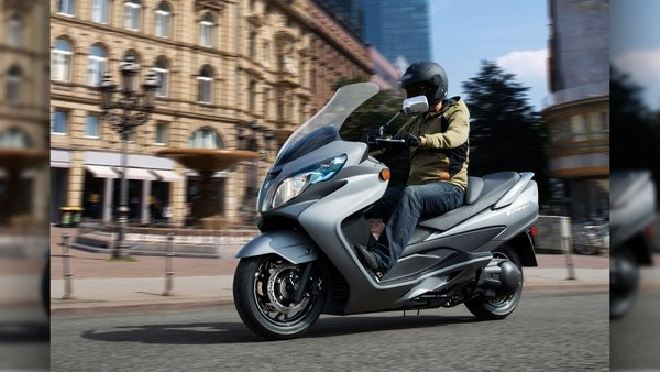 2016 - 2017 suzuki burgman review - top speed
