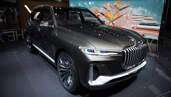 2017 BMW Concept X7 IPerformance Review - Top Speed