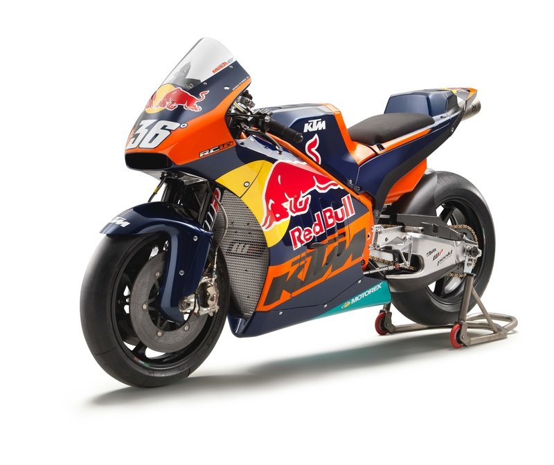 With KTM finally running on the current MotoGP calender, its production racer is up next.
