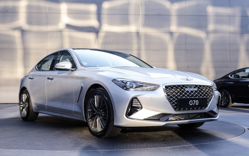 2018 Genesis G70 High Resolution Exterior - image 731674