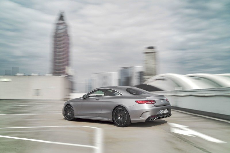 2018 Mercedes-Benz S-Class Coupe High Resolution Exterior - image 729460