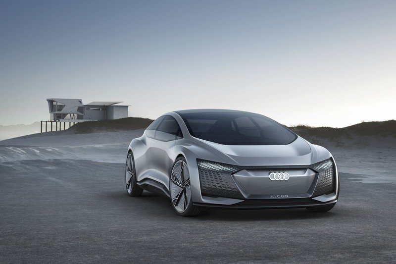 Audi Looks To Our Autonomous EV Future With Aicon Concept High Resolution Exterior - image 730465