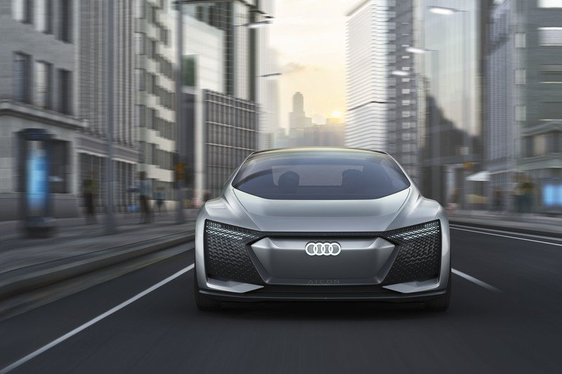 Audi Looks To Our Autonomous EV Future With Aicon Concept High Resolution Exterior - image 730474