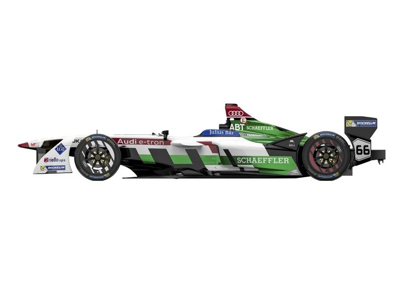 Audi Steps Up To Formula E With E-Tron FE04