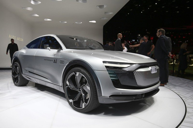 The Elaine Concept Puts Audi's Autonomous Ambitions On Display High Resolution Exterior - image 731349