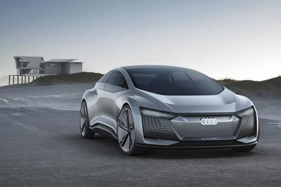 Audi Looks To Our Autonomous EV Future With Aicon Concept - image 730650
