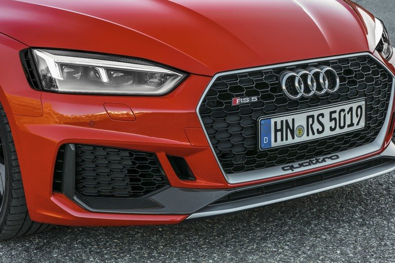 2018 Audi RS4 And RS5 Carbon Editions