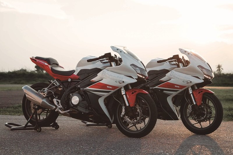 Benelli's new Tornado 302R makes appearance.