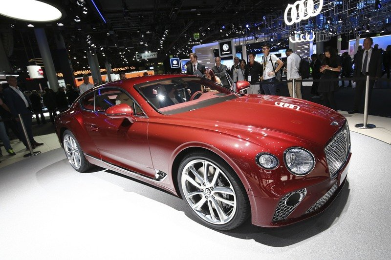 Bentley Launches Third-Generation Continental GT and It's Gorgeous!