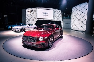 Visual Comparison: Bentley Continental GT