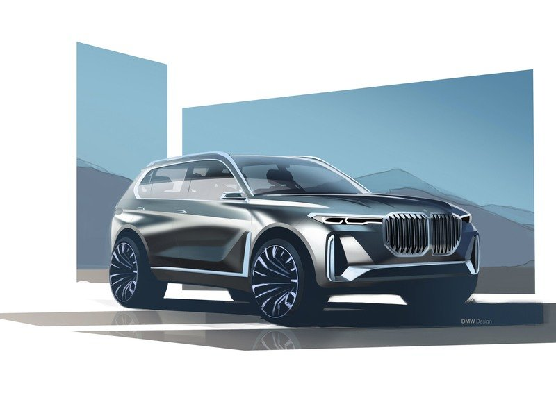 2017 BMW Concept X7 iPerformance High Resolution Exterior - image 730111