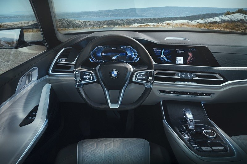 2017 BMW Concept X7 iPerformance High Resolution Interior - image 730143