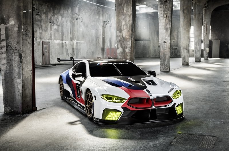 BMW's M8 GTE Le Mans Competitor Previews Production M8 Model High Resolution Exterior - image 731265