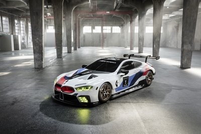 BMW's M8 GTE Le Mans Competitor Previews Production M8 Model - image 731266