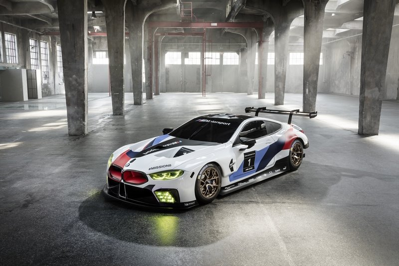 BMW's M8 GTE Le Mans Competitor Previews Production M8 Model High Resolution Exterior - image 731266