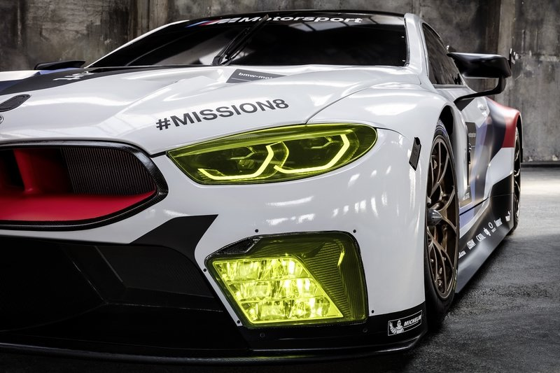 BMW's M8 GTE Le Mans Competitor Previews Production M8 Model High Resolution Exterior - image 731264