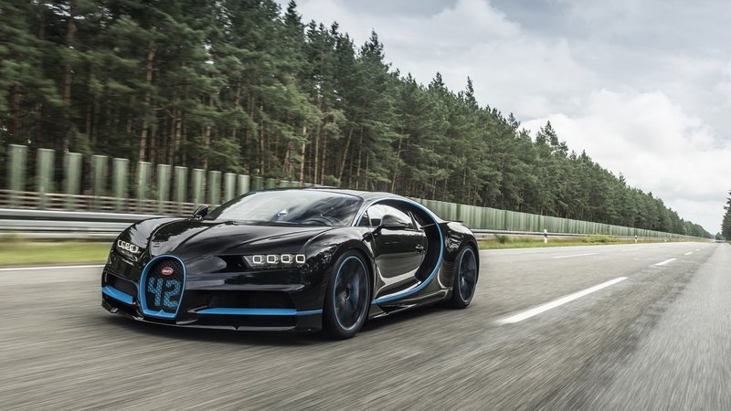 Bugatti Gets Its Name in the Record Books Again, but It's Not for Top Speed