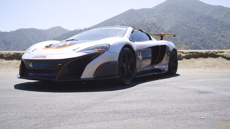 Car Throttle Drives Triple Turbo McLaren, Expletives Are Uttered