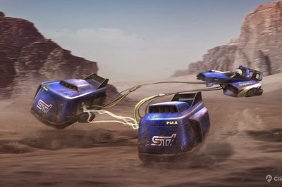 Click Mechanic Renders 7 Automakers As Star Wars Podracers - image 733309