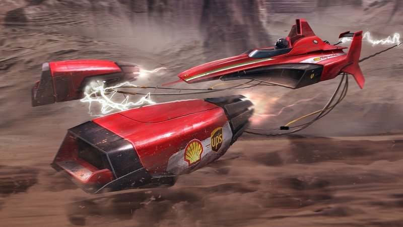 Click Mechanic Renders 7 Automakers As Star Wars Podracers