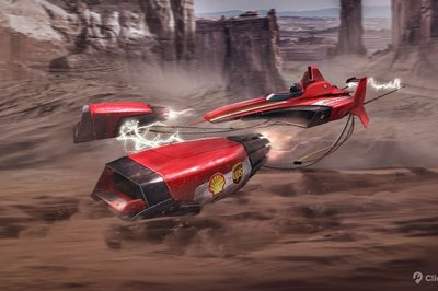 Click Mechanic Renders 7 Automakers As Star Wars Podracers - image 733306