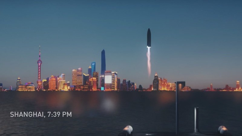 Elon Musk Wants to Send You from Los Angeles to Shanghai in 36 Minutes