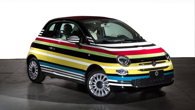 2017 Fiat 500C Missoni by Garage Italia Customs