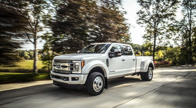 Ford Debuts Limited Trim on 2018 Super Duty and It's Expensive