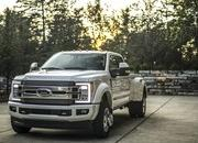 Ford Debuts Limited Trim on 2018 Super Duty and It's Expensive - image 734733