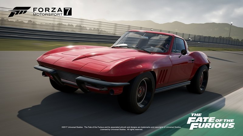 Fate of the Furious is Coming to Forza 7