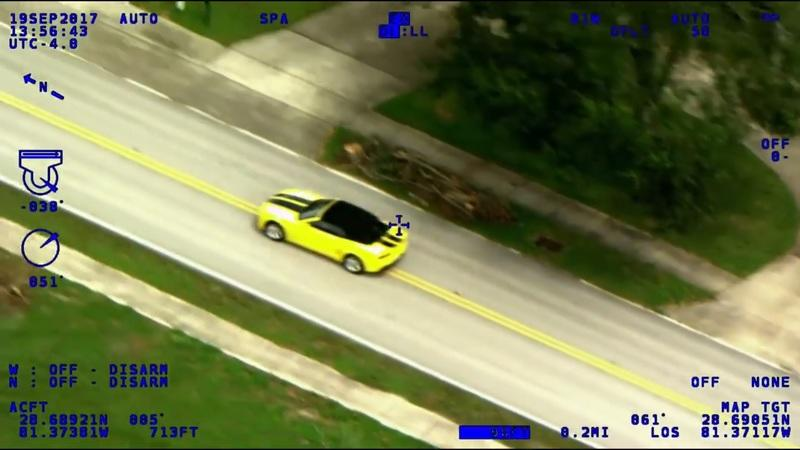 Police Chase: Idiot Learns Running From the Cops Requires Gas