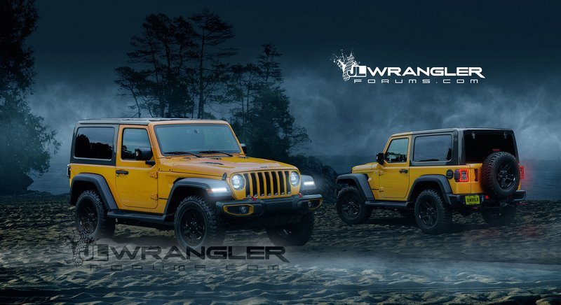 2018 Jeep Wrangler Computer Renderings and Photoshop Exterior - image 734783