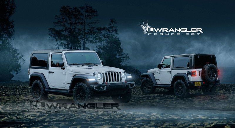 Is This The next Jeep Wrangler Two-Door?