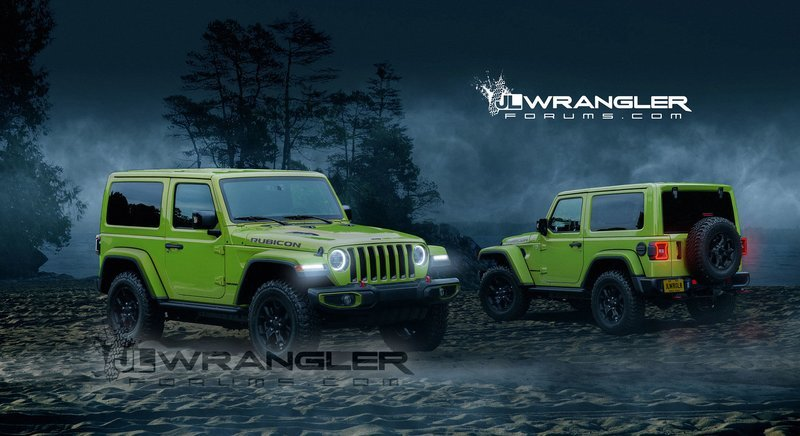 2018 Jeep Wrangler Computer Renderings and Photoshop Exterior - image 734779