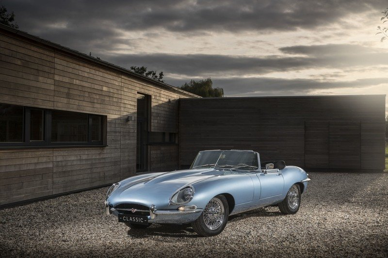 2017 Jaguar E-Type Zero