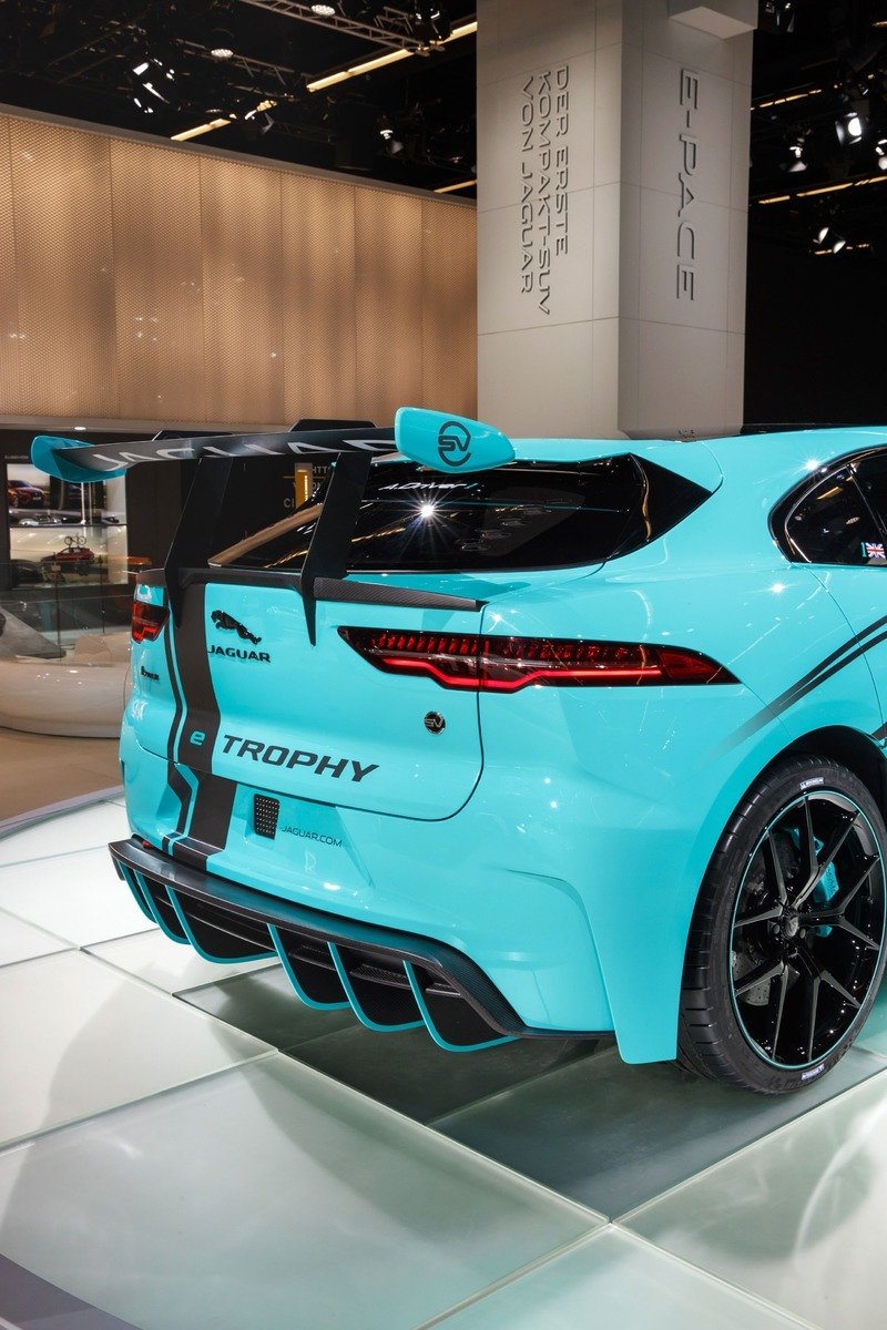 Jaguar Gets Racy With The I-Pace eTrophy