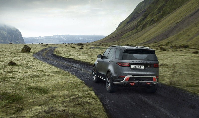 Jaguar Land Rover's SVO Unit Comes Through On Its Word With The Discovery SVX High Resolution Exterior Wallpaper quality - image 730699