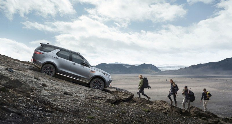 Jaguar Land Rover's SVO Unit Comes Through On Its Word With The Discovery SVX High Resolution Exterior Wallpaper quality - image 730701