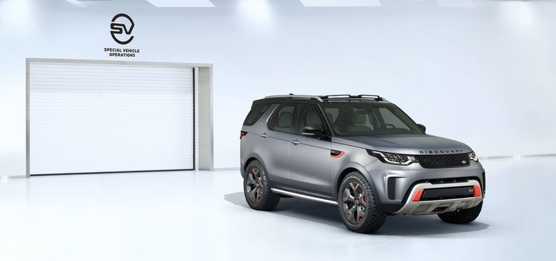 Jaguar Land Rover's SVO Unit Comes Through On Its Word With The Discovery SVX High Resolution Exterior - image 730685