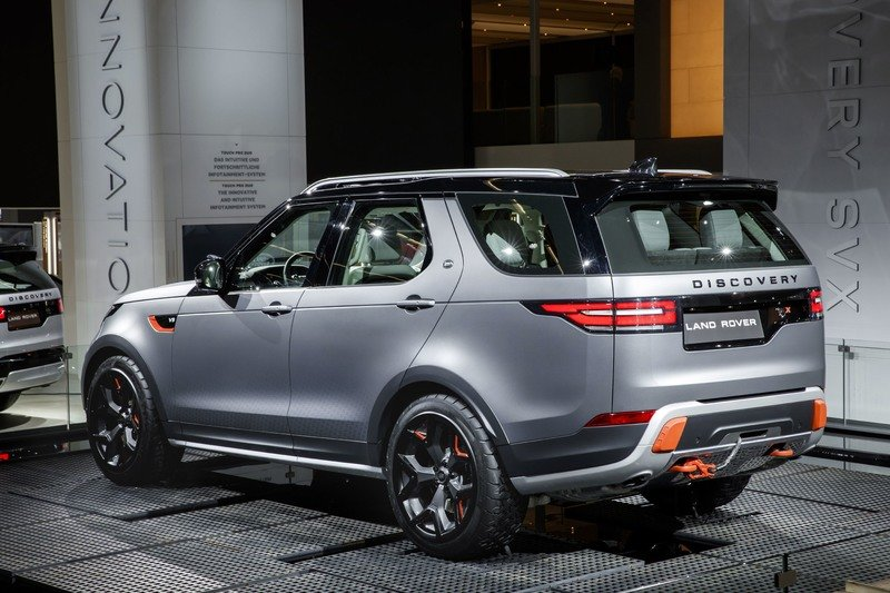 2018 Land Rover Discovery SVX AutoShow High Resolution Exterior - image 731456
