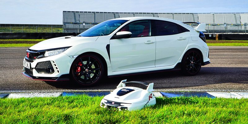 Love the Honda Civic Type R? You Need this Lawnmower