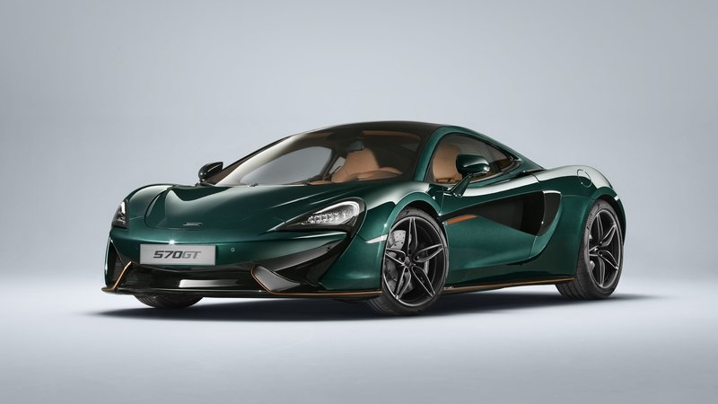 2018 McLaren 570GT in XP Green By MSO