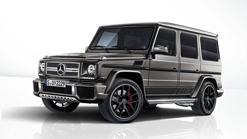 2017 Mercedes-AMG G 63 and Mercedes-AMG G 65 Exclusive Editions