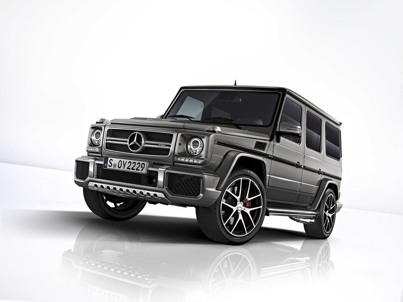 2017 Mercedes-AMG G 63 and Mercedes-AMG G 65 Exclusive Editions High Resolution Exterior - image 729704